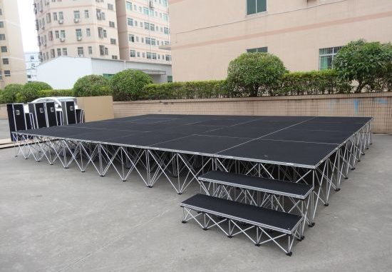 Portable outdoor stage