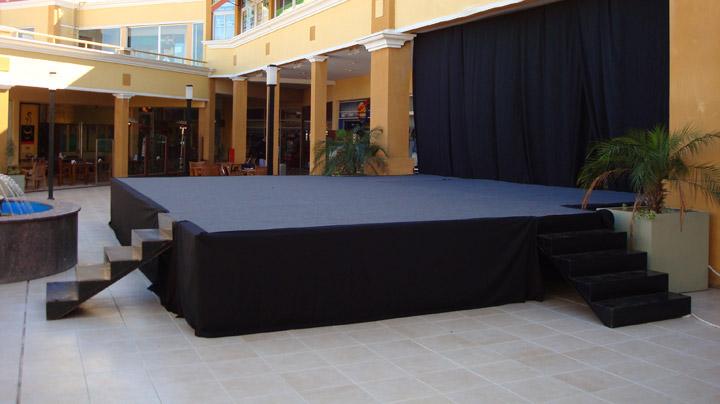 outdoor stage platform